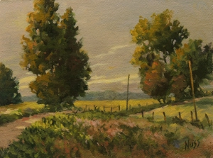 Nuss_Old_Hipsley_Mill_Road_6x8_oil.jpg